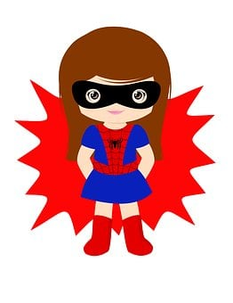 Spider Girl, Girl, Super, Superhero, Hero, Power
