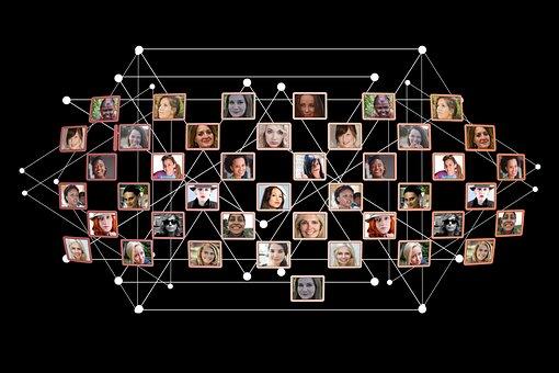 Women, Network, Faces, Social, Play, Team, Teamwork