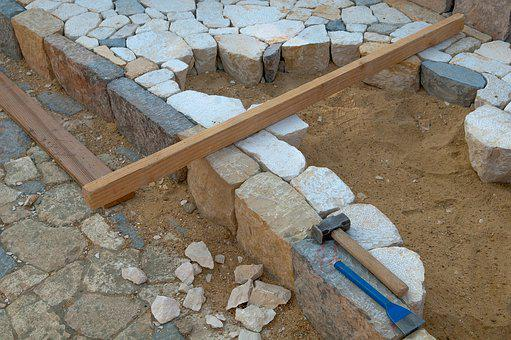Calade, Pierre, Path, Stone Size, Pebbles, Hammer