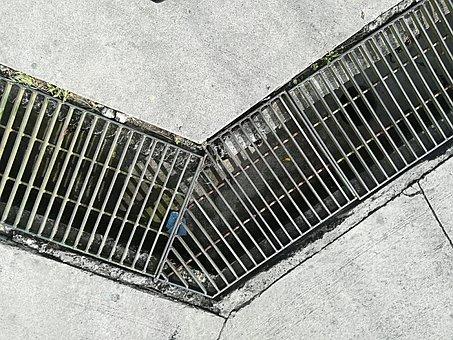 Sewer, Street, Corner