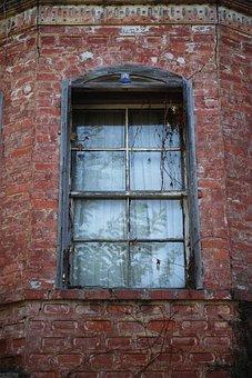 Window, Brick, Old, Retro, The Forgotten, Turkey