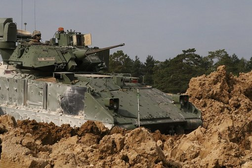 M2a3 Bradley, Fighting Vehicle, Ifv, Army, Tracked