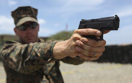 Cz P-07, Marines, Usmc, Officer, Training, Pistol