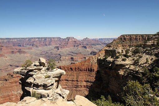 Grand Canyon, Usa, Canyon, Arizona, Landscape, Panorama