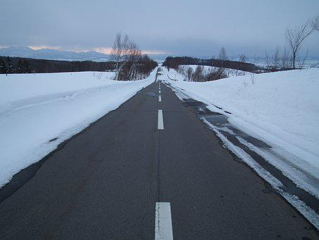 Winter, 3 Months, Snow, The Snow, Straight Road