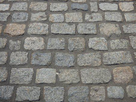Cobblestone, Street, Bricks