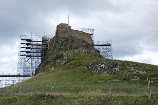 Restoration, Castle, Holy Island, Lindisfarne, Historic