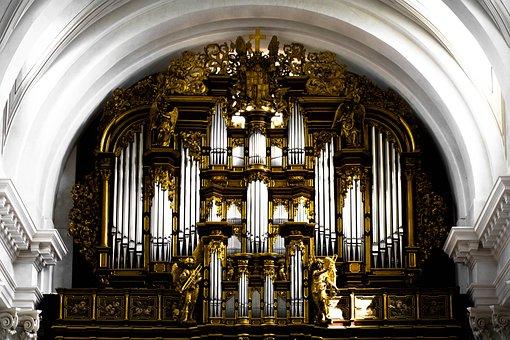 Organ, Church, Music, Organ Whistle, Church Organ