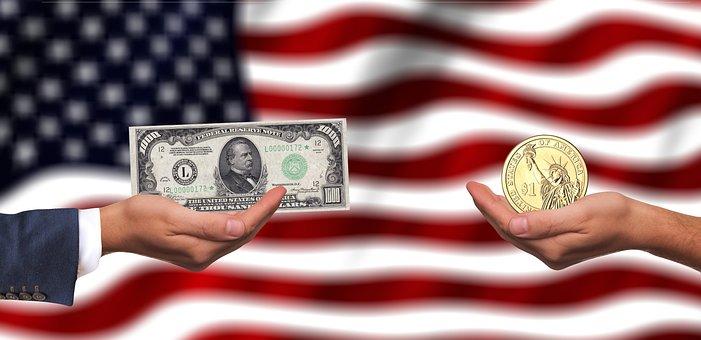 Usa, Dollar, Arm, Empire, Flag, America, Currency