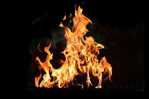 Fire, Flame, Fiery, Blaze, Hot, Red, Light, Bonfire