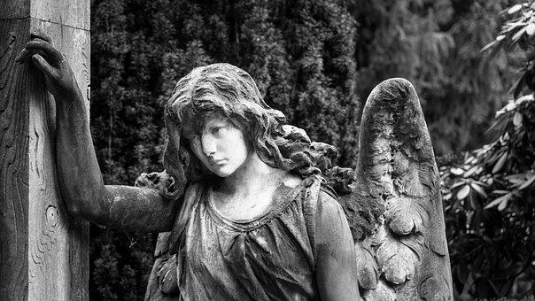 Angel, God, Religion, Cemetery, Faith, Christian