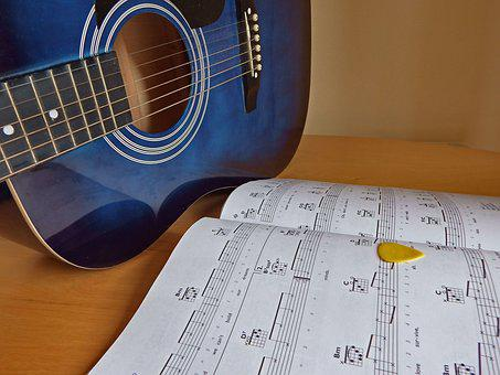 Guitar, Music, Plectrum, Musical, Instrument, Sound