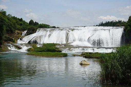 Guizhou, Huangguoshu, Falls