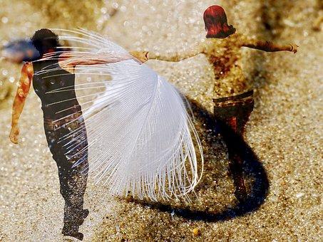 Feather, Live, Happiness, Love, Joy, Enjoy, Lightweight