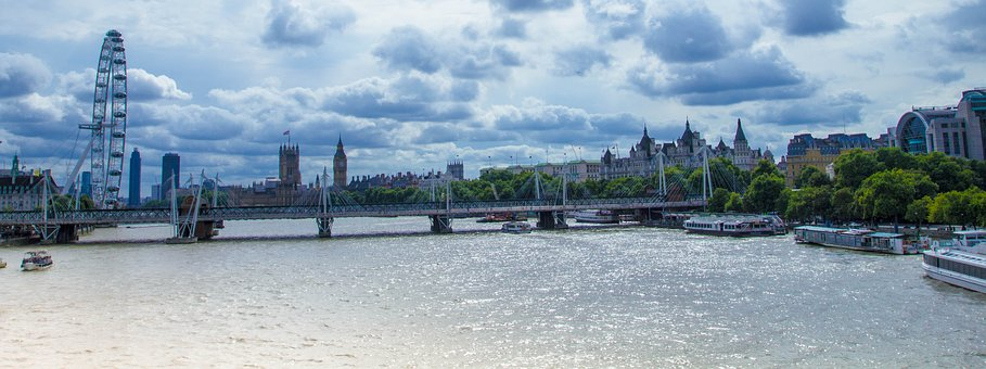 London, River Thames, North View