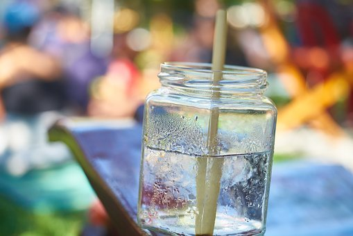 Water, Drink, Out, Food, Macro, Health, Good Morning