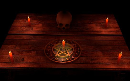 Pentacle, Magic, Occultism, Mystic, Ritual, Mental