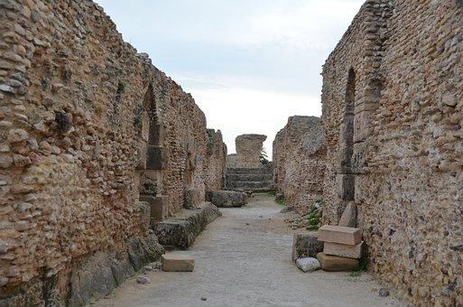 Carthage, Tunisia, Roman Ruins, Archaeology, Empire