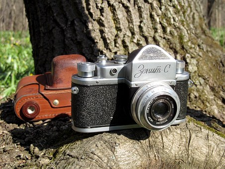 Zenith, Camera, Analog, Old, Retro, The Ussr