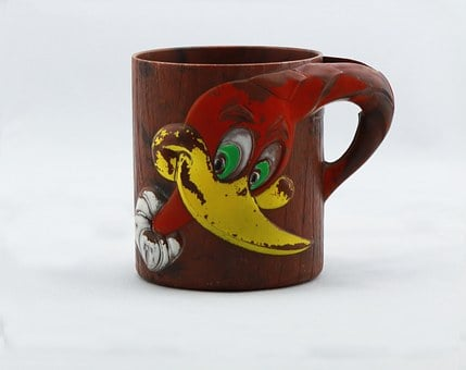 Woody The Woodpecker, Vintage, Antique