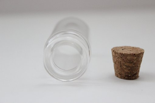 Bottle, Cork, Glass, Empty, Container, Fragile