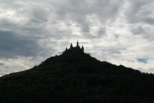 Hohenzollern, Hohenzollern Castle, Castle, Mountain