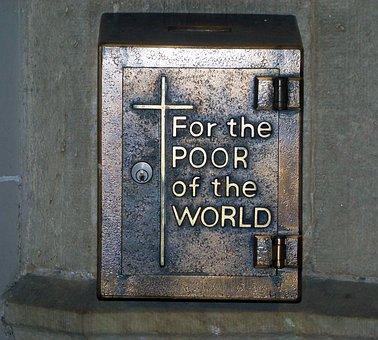 Box, Charity, Catholic, Church, Poor, Donation, Help
