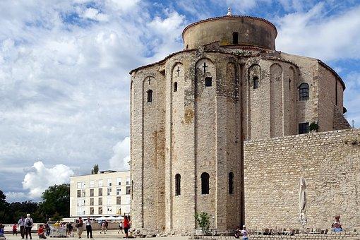 Sv Donat, Monastery, Croatia, Old Town, Dalmatia, Zadar