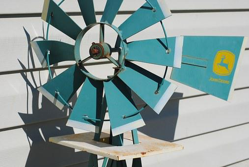 Windmill, Green, Wind, Environment, Energy, Nature