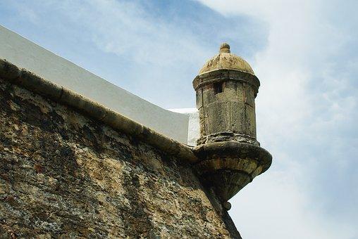 Brazilwood, Bahia, Fort, Bartizan, Fortification