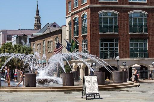 Fountain, City Square, Charleston, South Carolina
