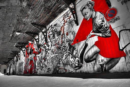 Street, Art, Graffiti, City, Urban, Artwork, Artistic