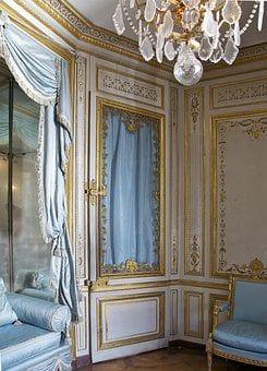 France, Chateau De Versailles, Setting Room, Inside
