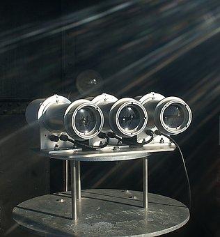 The Headlights, Source Of Light, Lantern, Lighthouse