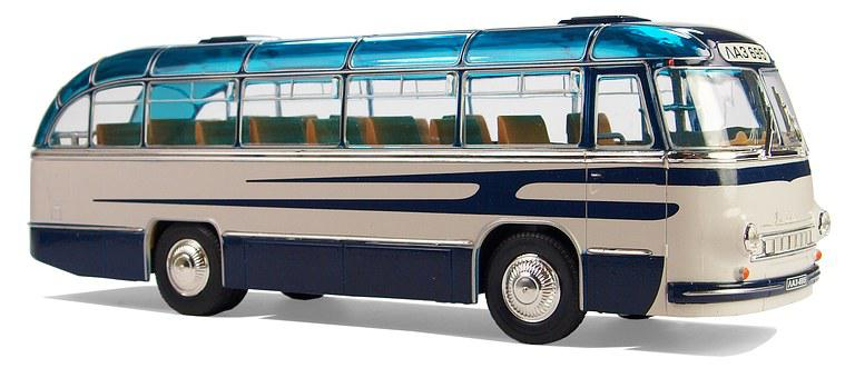 Laz, Type 695, Russia, Ussr, Coaches, Coach, Collect