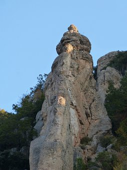 Rock, Lighting, Conglomerate, Limestone, Montsant