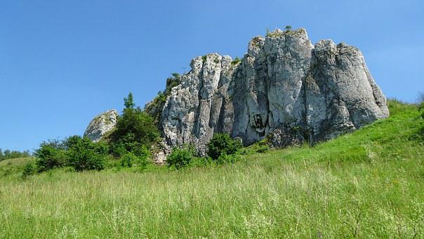 Rocks, Limestones, Holiday, Landscape, Nature, Poland