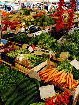 Market, Vegetables, Food, Fresh, Healthy, Fruit, Stand