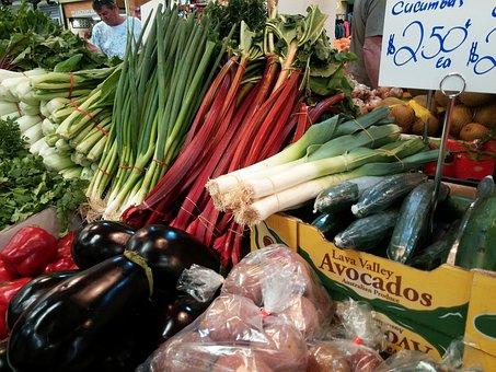 Vegetable, Vegetarian, Vegan, Market, Market Stall