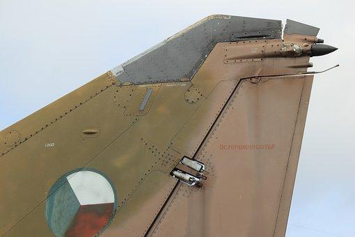 Aircraft, Tailplane, Airplane, Ussr, Soviet, Mig