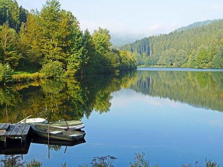 Nagold Dam, Northern Black Forest, Lake, Reservoir