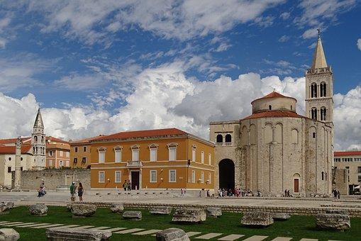 St Donatus, Church, Zadar, Monastery, Croatia, Old Town