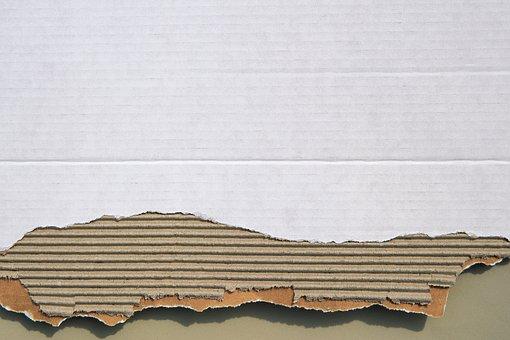 Cardboard, Corrugated Board, Paper, Structure, Fund