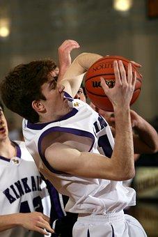 Basketball, Player, Struggle, Compete, Ball, Sport