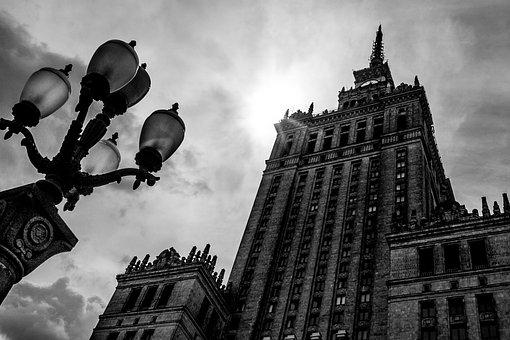 Warsaw, The Capital Of The, Poland, The Skyscraper
