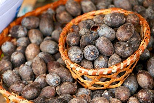 Food, Uxi Fruit, Fruit, Basket, Produce, Uxi