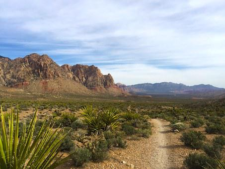 Red Rock Canyon, National Park, Mountainscape