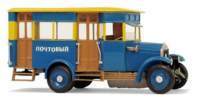 Amo, Type F15, Russia, Buses, Collect, Hobby