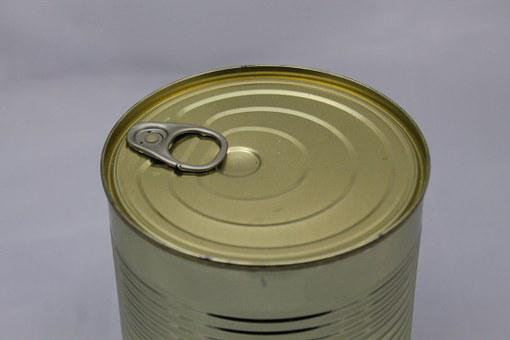 Tin Can, Canning, Stew, Gold, Soup, Made A, Metal