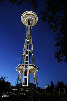 Space Needle, Seattle, Space, Needle, City, Skyline